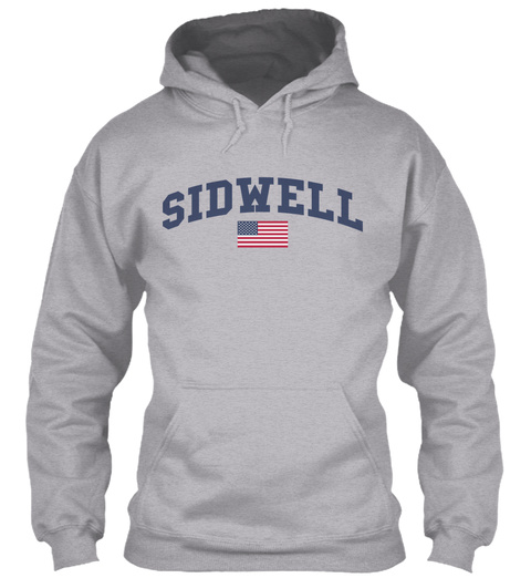 Sidwell Family Flag Sport Grey T-Shirt Front