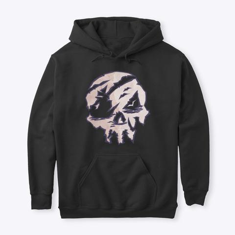 I Am Pirate Legend Black T-Shirt Front