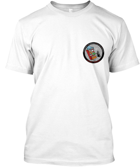 8251 Flight Engineer Shirt  White T-Shirt Front
