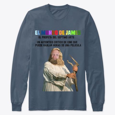El Profeta Del Septimo Arte Indigo T-Shirt Front