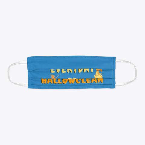 Everyday Is Hallowclean Denim Blue T-Shirt Flat
