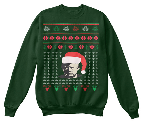 Trump Ugly Christmas Sweater Products from Best Christmas Sweater ...