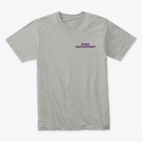 Gardening For Autism Light Grey T-Shirt Front