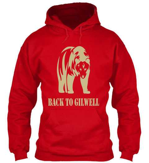 Back To Gilwell Red T-Shirt Front