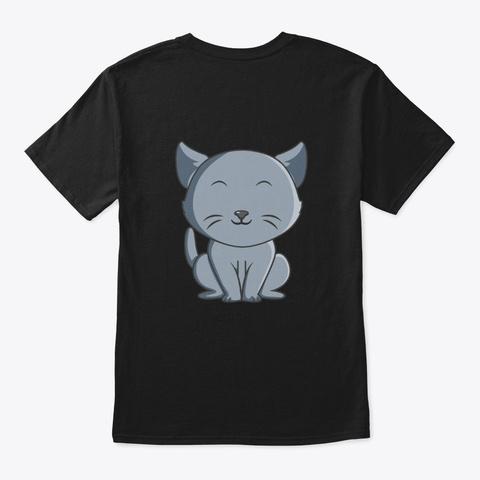 Dash Catz T Shirt Black T-Shirt Back