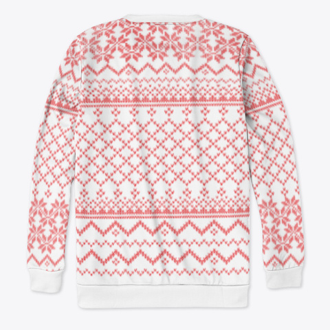 Festive Sweater Standard T-Shirt Back
