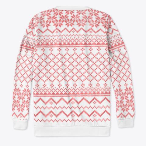 Festive Sweater Standard T-Shirt Back