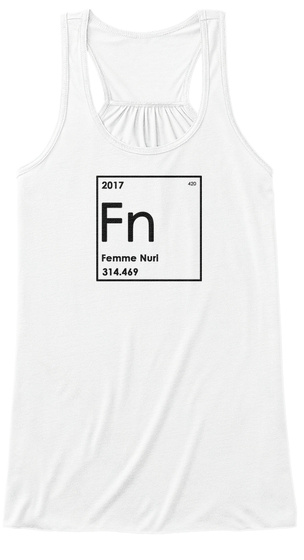 Elemental Flowy Tank 1.0 White Women's Tank Top Front