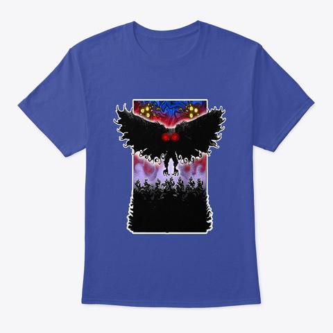 Mothman! Deep Royal T-Shirt Front