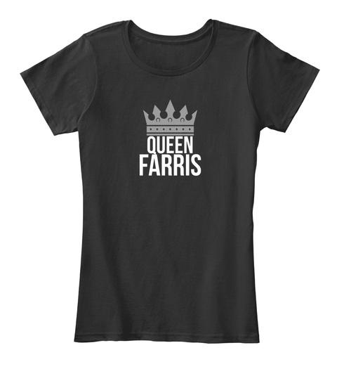 Farris Queen Black T-Shirt Front