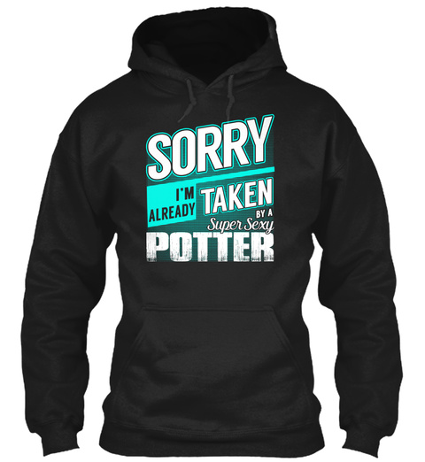 Potter   Super Sexy Black T-Shirt Front