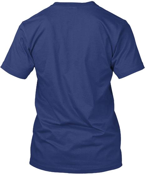 Impeachara®   Bottle Shirt Indigo T-Shirt Back