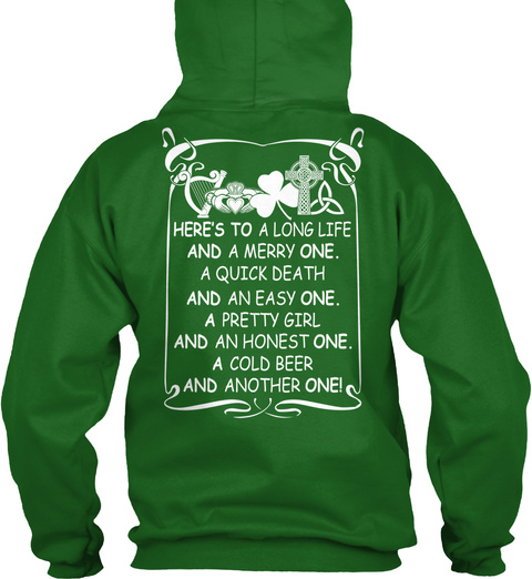 Irish Girls 192 Irish Green T-Shirt Back