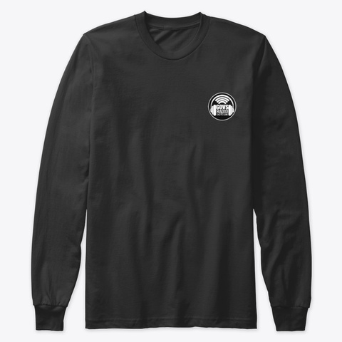 Comedians On Football   Gov's Radio Black T-Shirt Front