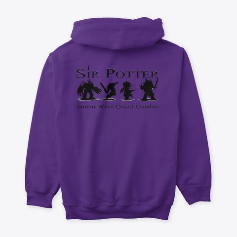 The Potter Purple T-Shirt Back