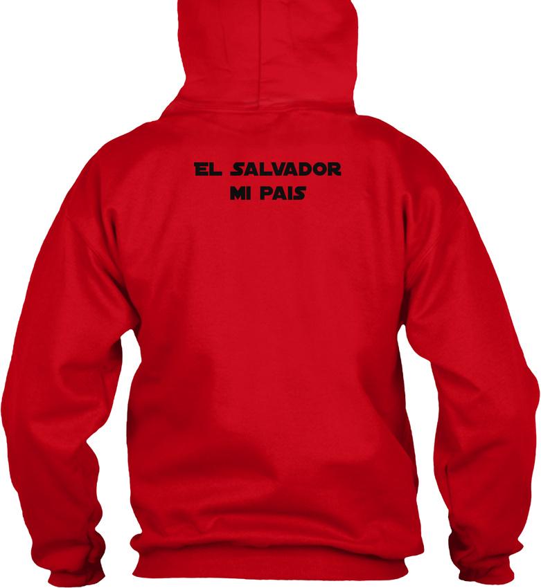 El-Salvador-Mi-Pais-Republica-De-En-La-America-Gildan-Hoodie-Sweatshirt thumbnail 14
