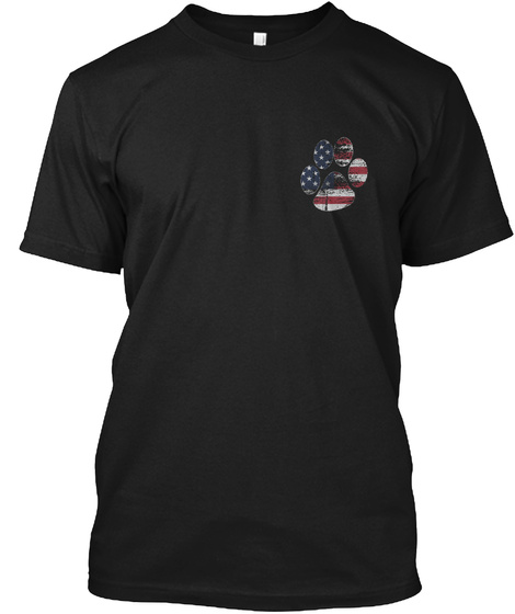 Military K9: No Better Friend.. Black T-Shirt Front
