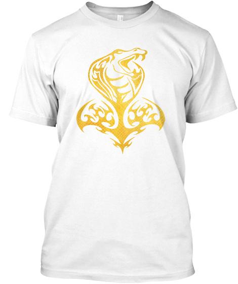 Snake Guild   Snake, Animal, Fangs White T-Shirt Front