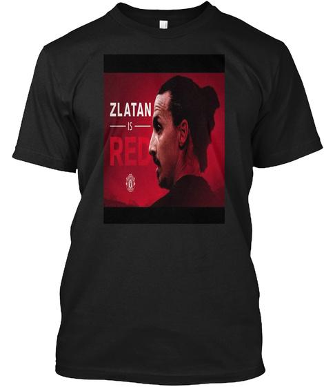 Ibrahimovic Black T-Shirt Front
