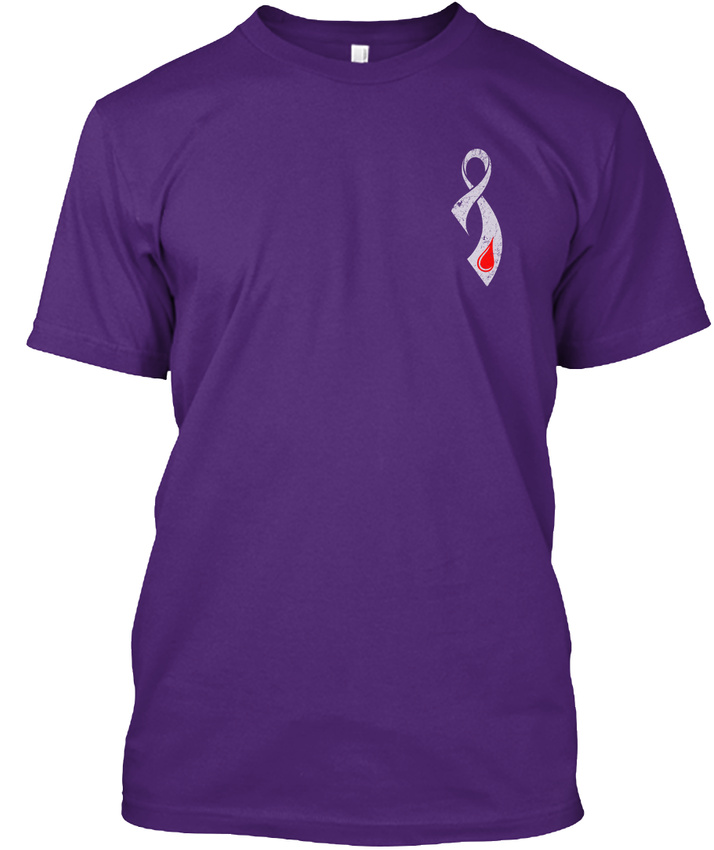 Easy-care-Type-1-Diabetes-Awareness-One-Is-A-Journey-Hanes-Tagless-Tee-T-Shirt thumbnail 12