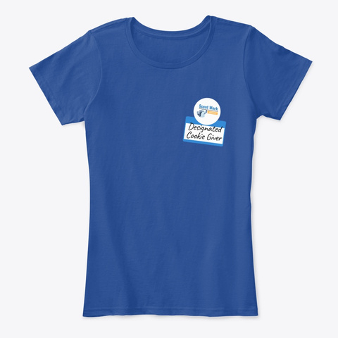 Designated Cookie Giver Deep Royal  T-Shirt Front