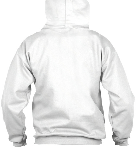Polycount Zip Hoodie Front White Sweatshirt Back