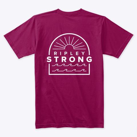 Ripley Sunset Cardinal T-Shirt Back
