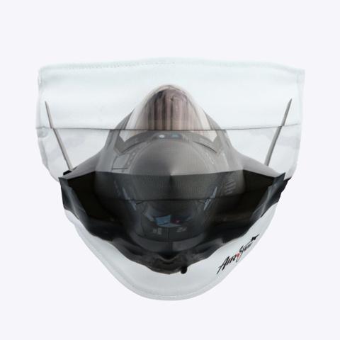 F 35 Lightning Ii Mask Standard T-Shirt Front