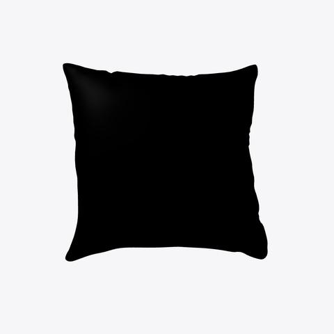 Make A Quilt Pillow (Yellow) Black T-Shirt Back