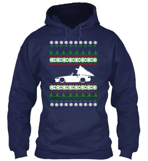 Limited  S2k Ugly Christmas Sweater Navy T-Shirt Front
