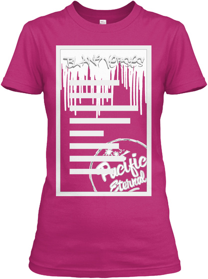 Women's Blank Verses Hot Pink Products from Pacific Eternal ...