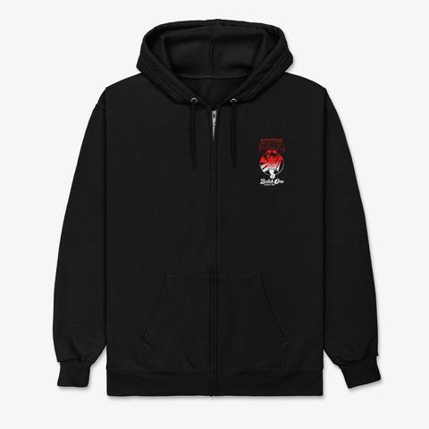 Cute Black 1 Black T-Shirt Front