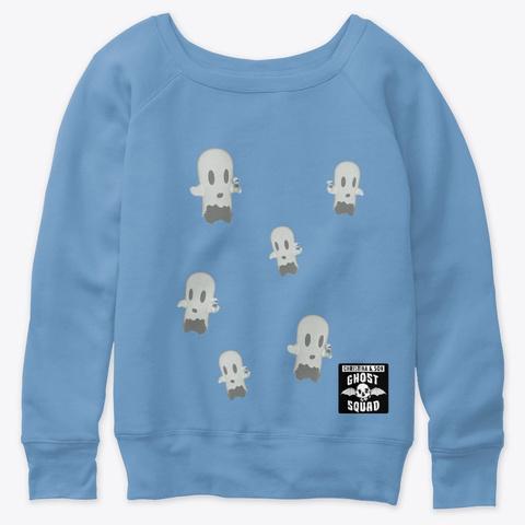 Squad Famz Merch 2 Blue Triblend  T-Shirt Front