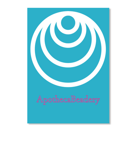 Apotheca Beadery Turquoise Sticker Front