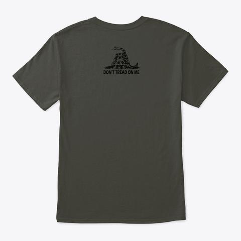 Warned You Smoke Gray T-Shirt Back