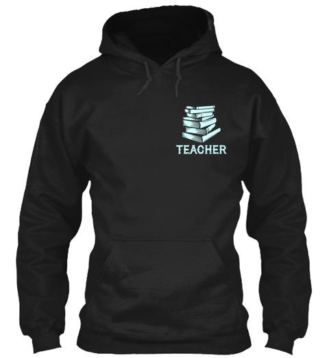 Teacher Black T-Shirt Front