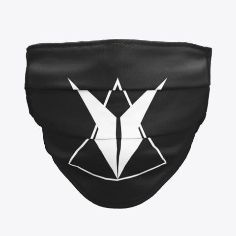 Pillezky Logo (Mask) Black T-Shirt Front