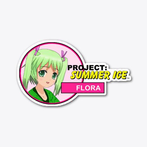 Project: Summer Ice Flora Sticker (A) Standard T-Shirt Front