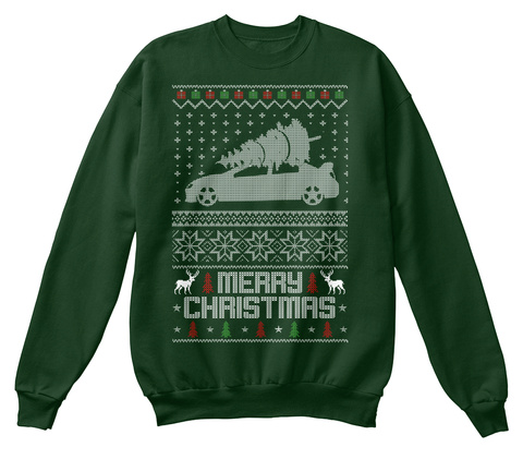 Ugly Christmas Sweater Design.Ugly Christmas Srt4 Sweater Design