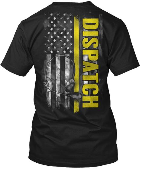 Dispatch Black T-Shirt Back