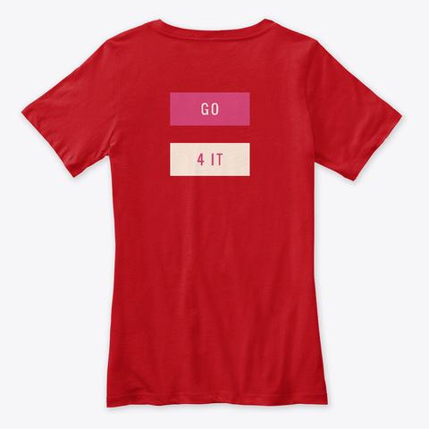 G. 4 I. : Gs Red T-Shirt Back