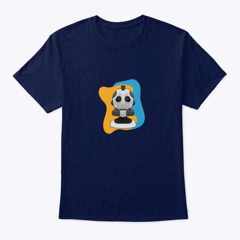 Love Robot  Navy T-Shirt Front