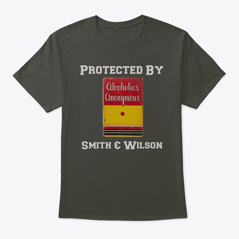 Protected By Smith &Amp; Wilson Smoke Gray T-Shirt Front