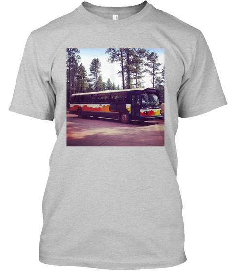 Go America Light Steel T-Shirt Front