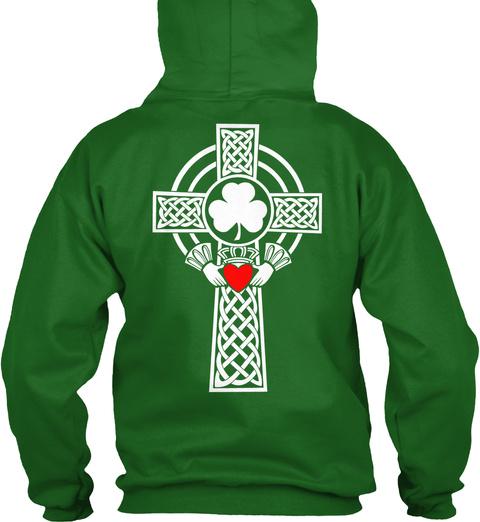 Limited Edition ! Ending Soon ! Irish Green T-Shirt Back