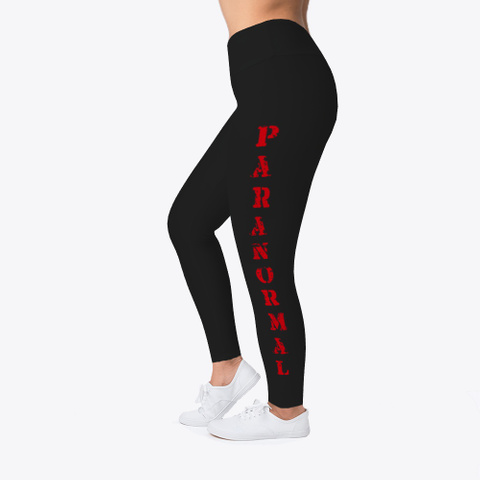 Paranormal Leggins Kp Black T-Shirt Left