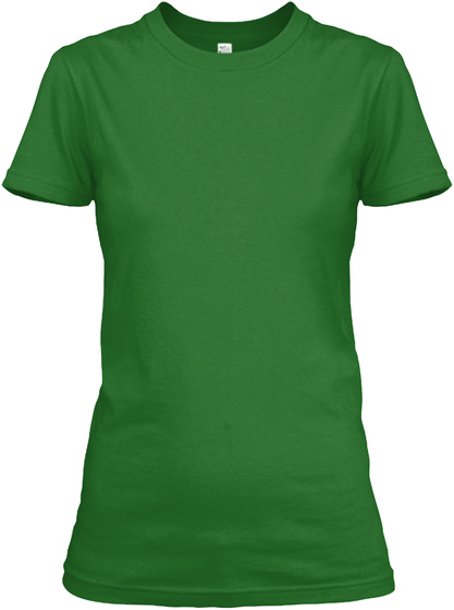 Kiss Me I Am Galarza Thing T Shirts Irish Green T-Shirt Front