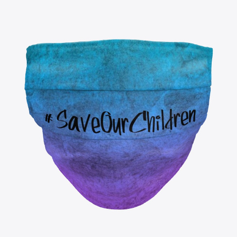 Save Our Children   Ombre Mask Standard T-Shirt Front