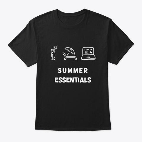 Summer Essentials Writers Tee Vol. 2 Black T-Shirt Front
