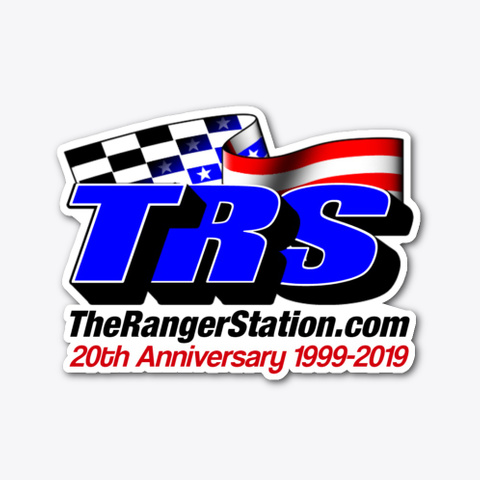 Trs 20th Anniversary Decal Standard T-Shirt Front